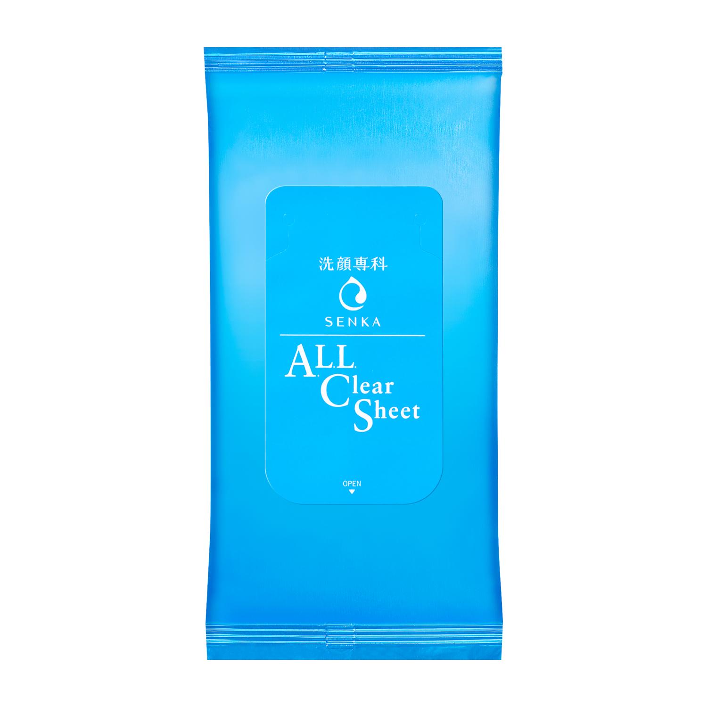 洗顔専科 すっぴん磨きクレンジングシート  (携帯用)